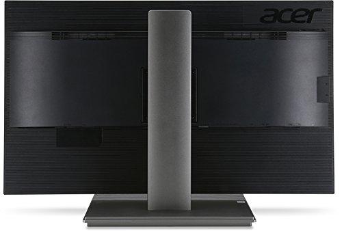 Acer B326HKAymjdpphz 81 cm (32 Zoll) Monitor (DVI, HDMI, USB Hub, UHD 3840 x 2160, Höhenverstellbar, EEK C) dunkelgrau - 12