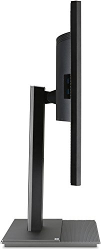 Acer B326HKAymjdpphz 81 cm (32 Zoll) Monitor (DVI, HDMI, USB Hub, UHD 3840 x 2160, Höhenverstellbar, EEK C) dunkelgrau - 9