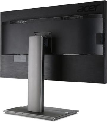 Acer B326HKAymjdpphz 81 cm (32 Zoll) Monitor (DVI, HDMI, USB Hub, UHD 3840 x 2160, Höhenverstellbar, EEK C) dunkelgrau - 10