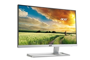 Acer S277HKwmidpp 69 cm (27 Zoll) Monitor (DVI, HDMI, Displayport, mini Displayport, UHD, Speaker, 4ms Reaktionszeit) glossy white - 3