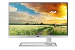 Acer S277HKwmidpp 69 cm (27 Zoll) Monitor (DVI, HDMI, Displayport, mini Displayport, UHD, Speaker, 4ms Reaktionszeit) glossy white - 1