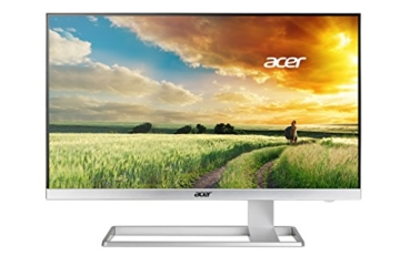 Acer S277HKwmidpp 69 cm (27 Zoll) Monitor (DVI, HDMI, Displayport, mini Displayport, UHD, Speaker, 4ms Reaktionszeit) glossy white - 1