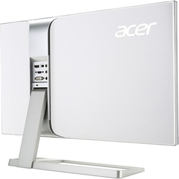 Acer S277HKwmidpp 69 cm (27 Zoll) Monitor (DVI, HDMI, Displayport, mini Displayport, UHD, Speaker, 4ms Reaktionszeit) glossy white - 5