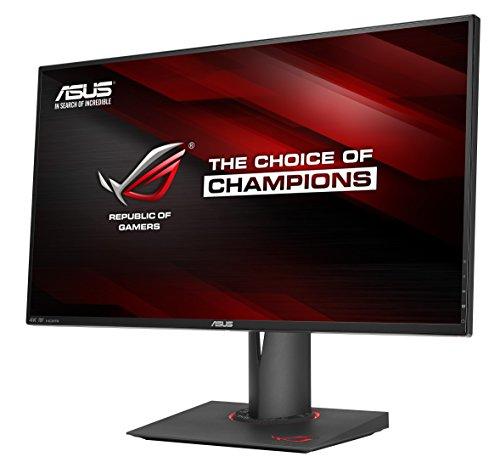 Asus ROG PG27AQ 68,6 cm (27 Zoll) Monitor (HDMI, 4ms Reaktionszeit, 4K/UHD, DisplayPort, Nvidia G-Sync) schwarz - 2