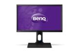 BenQ BL2420U 60,96 cm (24 Zoll) 4K UHD Monitor (4K UHD, VGA, DVI, HDMI, USB, 5ms Reaktionszeit, Höhenverstellbar 140mm, Pivot, Lautsprecher) schwarz - 1