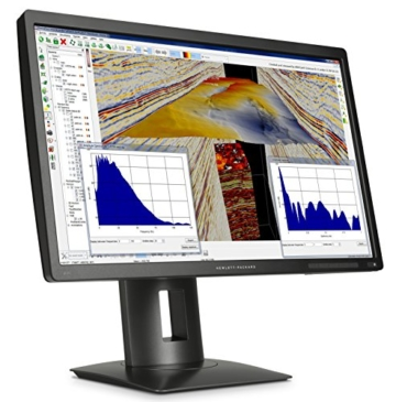 HP Z24s J2W50AT 61 cm (24 Zoll UHD) Monitor (4k Monitor, HDMI 1.4, USB 3.0, 14 ms Reaktionszeit, 3.840 x 2.160) schwarz - 3
