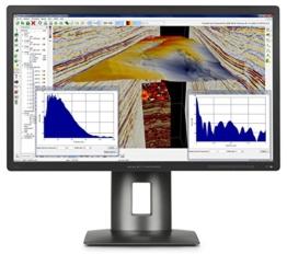 HP Z24s J2W50AT 61 cm (24 Zoll UHD) Monitor (4k Monitor, HDMI 1.4, USB 3.0, 14 ms Reaktionszeit, 3.840 x 2.160) schwarz - 1