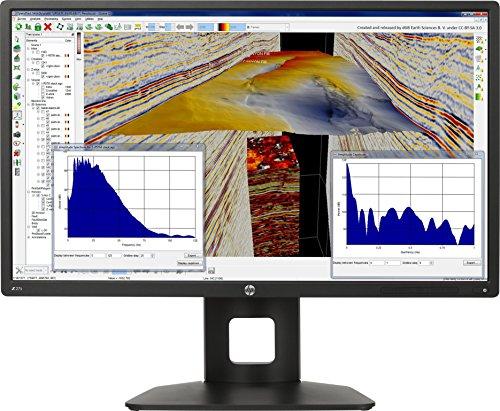 HP Z27s J3G07AT 68,6 cm (27 Zoll UHD) Monitor (4k Monitor, USB 3.0, HDMI, 6ms Reaktionszeit, 3840 x 2160) schwarz - 1