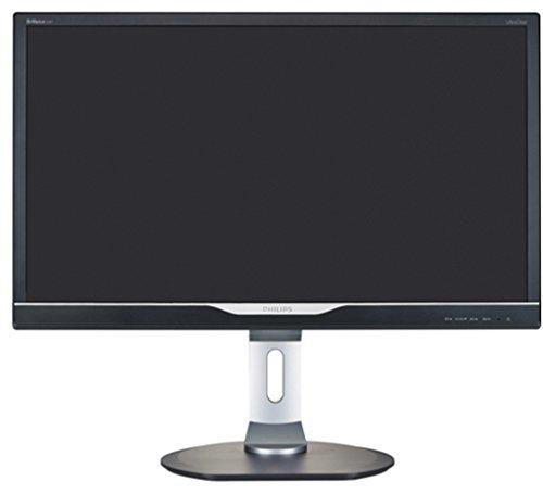 Philips 288P6ljEB/00 71,1 cm (28 Zoll) Monitor (VGA, DVI, HDMI, USB, DisplayPort, 3840 x 2160, 60 Hz, 1ms Reaktionszeit, höhenverstellbar, 4K, UltraClear UHD) schwarz - 3