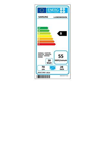 Samsung U28E590D 71,12 cm (28 Zoll) Monitor (HDMI, 1ms Reaktionszeit, 60 Hz Aktualisierungsrate, 3.840x2.160) schwarz-glänzend - 2