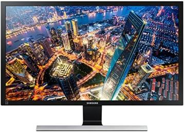 Samsung U28E590D 71,12 cm (28 Zoll) Monitor (HDMI, 1ms Reaktionszeit, 60 Hz Aktualisierungsrate, 3.840x2.160) schwarz-glänzend - 1