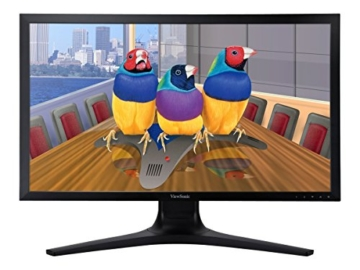 Viewsonic VP2780-4K 68,6 cm (27 Zoll) Professional 4K UHD SuperClear IPS LED-Monitor (Höhenverstellung 150mm, HDMI 2.0/DisplayPort, USB 3.0, 5ms Reaktionszeit) Schwarz - 3