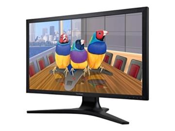 Viewsonic VP2780-4K 68,6 cm (27 Zoll) Professional 4K UHD SuperClear IPS LED-Monitor (Höhenverstellung 150mm, HDMI 2.0/DisplayPort, USB 3.0, 5ms Reaktionszeit) Schwarz - 4