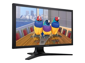 Viewsonic VP2780-4K 68,6 cm (27 Zoll) Professional 4K UHD SuperClear IPS LED-Monitor (Höhenverstellung 150mm, HDMI 2.0/DisplayPort, USB 3.0, 5ms Reaktionszeit) Schwarz - 5
