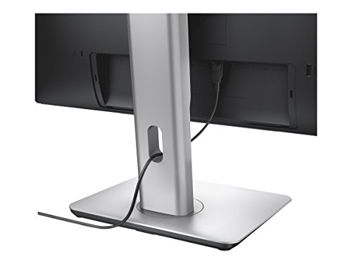 Dell P2415Q 60,9 cm (24 Zoll) 4k Monitor (HDMI, 3840 x 2160 Pixel, 6ms Reaktionszeit) schwarz -