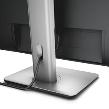 Dell U2715H 69 cm (27 Zoll) Monitor (HDMI, 6ms Reaktionszeit, USB 3.0) schwarz -