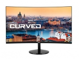 HKC 27A9 27 Zoll (68,5 cm) Curved LED Monitor, Full-HD 1920x1080, HDMI, VGA - Schwarz -