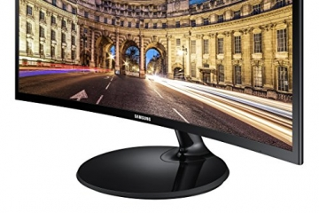 Samsung C24F390F 61 cm (24 Zoll) Curved Monitor (VGA, HDMI, 16:9, 4ms) -