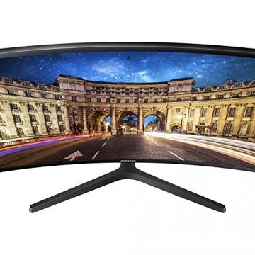 Samsung C24F396FHU Curved Monitor, 60,9 cm (24 Zoll), Schwarz -