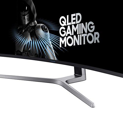 Samsung C49HG90DMU 124,20 cm (49 Zoll) LED Multitasking Monitor (2X HDMI, Display Port, Mini-Display Port, USB, 3840 x 1080 Pixel) Mattschwarz -