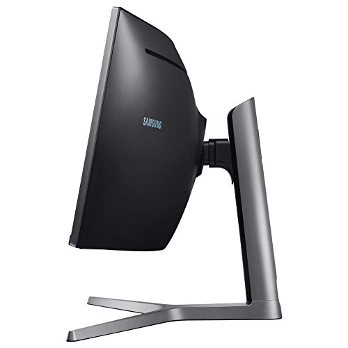 Samsung C49HG90DMU 124,20 cm (49 Zoll) LED Multitasking Monitor (2X HDMI, Display Port, Mini-Display Port, USB, 3840 x 1080 Pixel) Mattschwarz -